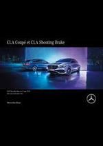 Journaux et magazines Mercedes Benz : Mercedes-Benz CLA Coupé et CLA Shooting Brake