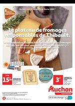 Prospectus Auchan : Le plateau de fromage responsable de Thibault