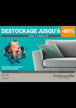 Promos et remises  : DESTOCKAGE JUSQU'A -60%