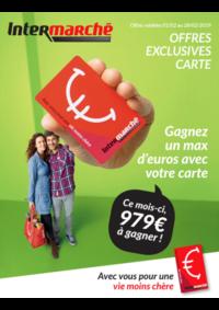 Prospectus Intermarché Auvelais : Carte Fevrier