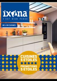 Prospectus Ixina GOSSELIES : Ixina Promoties