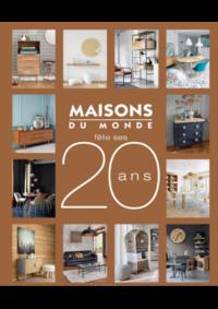 Catalogues et collections Maisons du Monde Gosselies - Charleroi : Catalogue Maisons du Monde