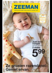 Prospectus Zeeman Hannut : Bewaarexemplaar babycollectie