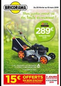 Prospectus Bricorama BOULOGNE BILLANCOURT : Mon jardin prend vie en toute économie!