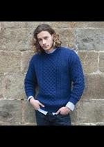 Prospectus Comptoir irlandais : Collection Pulls Aran / Homme