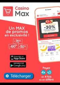 Prospectus Supermarchés Casino PARIS 352 RUE LECOURBE : Un Max de promos en exclusivité!