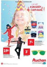 Prospectus Auchan VILLEBON SUR YVETTE : La vie a un goût de carnaval !