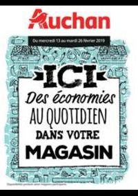 Prospectus Auchan Drive CESSON : Des économies au quotidien