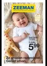 Prospectus Zeeman : Bewaarexemplaar babycollectie voorjaar 2019