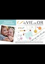 Prospectus Auchan drive : La Vie en Or - Baptême et communion