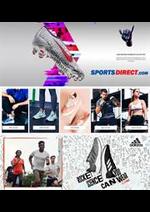 Prospectus Sports Direct : Dépliant Sports Direct