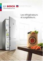 Prospectus Handyman : Catalogue refrigerateurs et surgelateurs Bosch Handyman