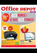 Prospectus Office DEPOT : PROMOS jusqu'au 02/04 ! soyez €coptimiste !