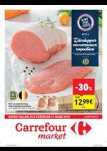 Prospectus Carrefour Market : Carrefour market : offres valables à partir du 13 mars