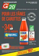 Prospectus G20 : Pour les fânes de carottes
