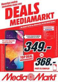 Prospectus Media Markt : Media deals
