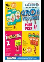 Prospectus E.Leclerc : Gros volumes mini prix !!