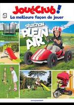 Prospectus JouéClub : Sélection Plein Air