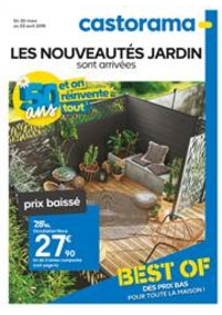 Prospectus Castorama CLAYE SOUILLY : Les Nouveautés Jardin