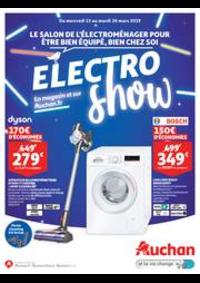 Prospectus Auchan ISSY LES MOULINEAUX : Le salon de l'électroménager pour être bien équipé, bien chez soi