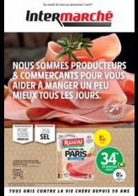 Prospectus Intermarché Super Moussy le Neuf : NOUS SOMMES PRODUCTEURS & COMMERÇANTS