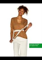 Prospectus Benetton : Nouveautés / Femme