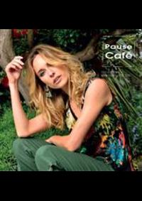 Prospectus Pause Cafe PARIS : Collection Printemps Été