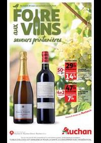 Prospectus Auchan Vélizy : Foire aux vins, saveurs printanières