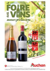 Prospectus Auchan TAVERNY : Foire aux vins, saveurs printanières