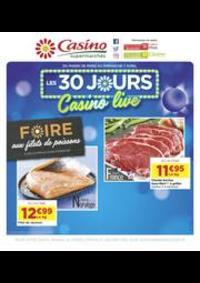 Prospectus Supermarchés Casino ASNIERES ZAC du métro - Ilot F : Les 30 jours Casino live