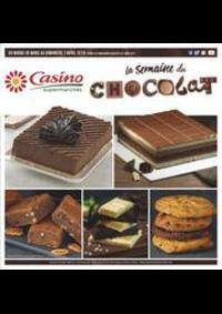 Prospectus Supermarchés Casino PARIS 50 - 60 rue de la Pompe : La semaine du chocolat