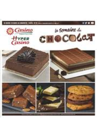 Prospectus Supermarchés Casino Clichy - Rue Martre : La semaine du chocolat