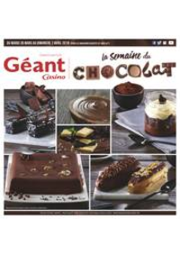 Prospectus Géant Casino ANGERS : La semaine du chocolat