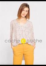 Prospectus Cache Cache : Chemises & Blouses