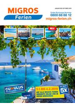 Prospectus  : Migros Ferien Katalog