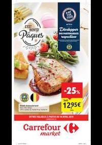 Prospectus Carrefour Market : C'est bientôt Pâques