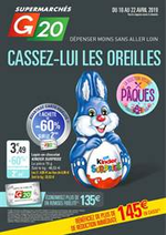 Prospectus G20 : Cassez-Lui les Oreilles