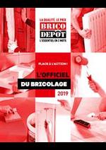 Prospectus Brico Dépôt : L'Officiel du Bricolage 2019