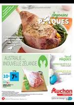 Prospectus Auchan : Joyeuses Pâques