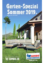 Prospectus Jumbo : Garten-Spezial Sommer 2019.