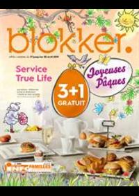 Prospectus BLOKKER Dinant : Blokker depliant avril