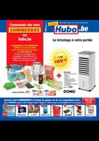 Prospectus Hubo Andenne : Hubo Belgie Folder