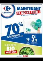 Prospectus Carrefour : MAINTENANT ET MOINS CHER ! - 70% D'ÉCONOMIES _ LE MEILLEUR DU BIO MOINS CHER
