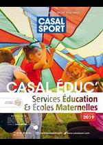 Promos et remises  : Casal Éduc 2019