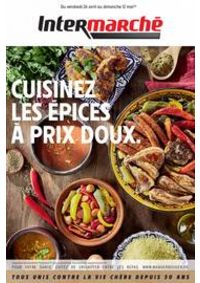 Prospectus Intermarché Super Givet : CUISINEZ LES ÉPICES À PRIX DOUX.