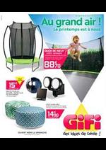 Prospectus Gifi : Au grand air!