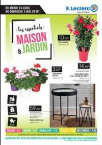 Prospectus E.Leclerc LE BLANC MESNIL : Maison et jardin