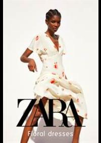 Prospectus ZARA PARIS 30 PLACE D'ITALIE : Floral Dresses