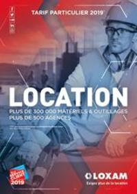 Prospectus Loxam PARIS : Tarif Particulier 2019
