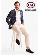 Prospectus C&A : Costumes / Homme